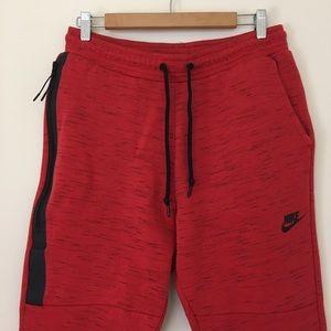 b7a2e8956140 Nike Pants - Nike Tech Fleece Jogger Pants varsity red